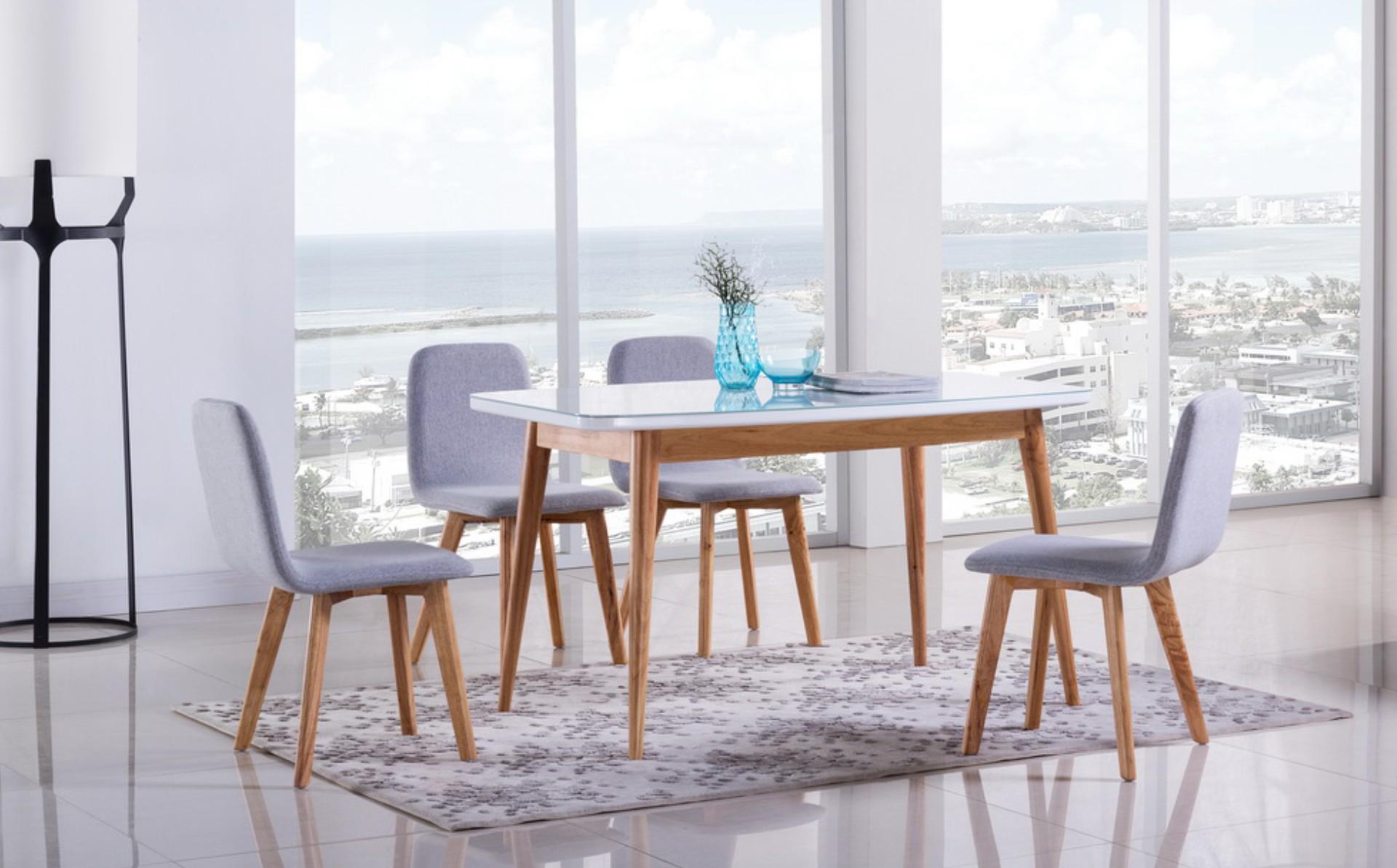 <b>北欧简约餐桌椅</b>