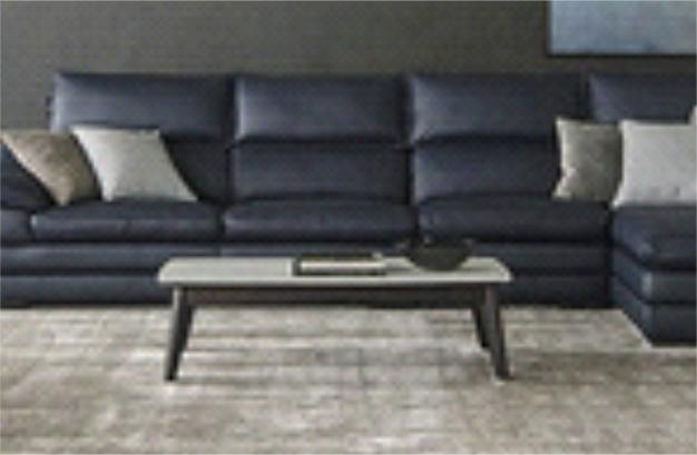 <b>头层牛皮客厅L型沙发</b>